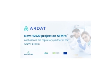 New H2020 project on ATMPs. Asphalion is the regulatory partner of the ARDAT project