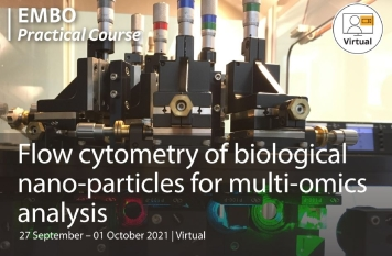 EMBO Practical Course: Flow Cytometry of biological nano-particles for multi-omics analysis